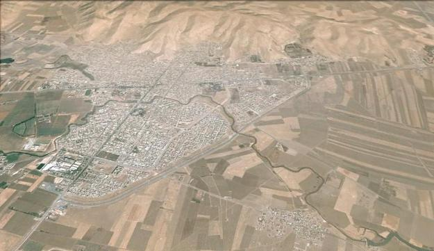 نگاره ی ماهواره ای شهر اسلام آباد غرب