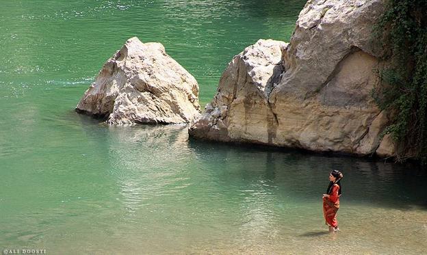 رودخانه ی سیروان-شهرستان پاوه