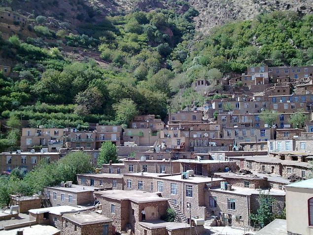 روستای تاریخی هجیج - شهرستان پاوه