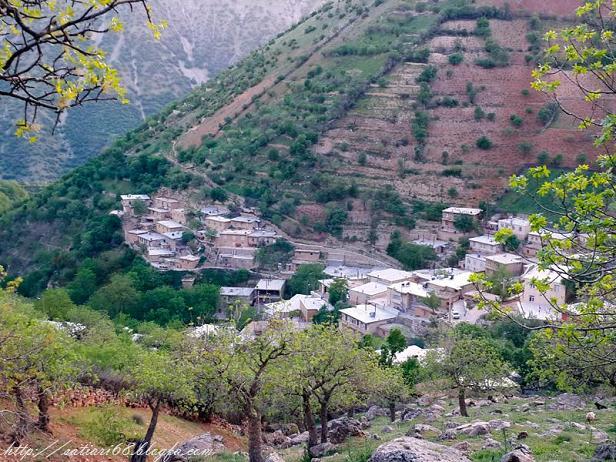 روستای ساتیاری-شهرستان پاوه