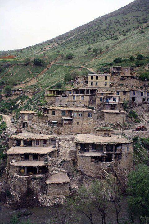 روستای سفید برگ - شهرستان جوانرود