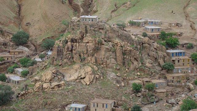 روستای قلعه جی - شهرستان جوانرود
