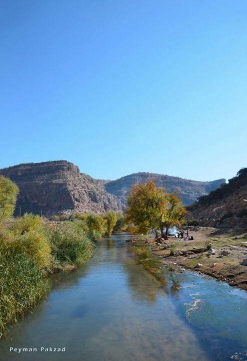 سراب گلین - شهرستان گیلانغرب