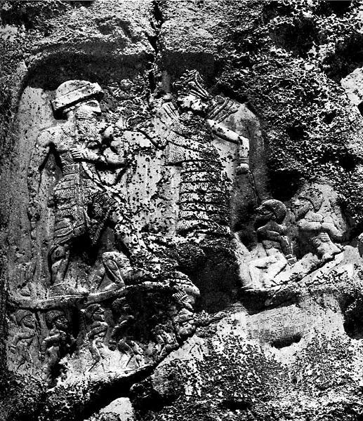 کتیبه ی 4800 ساله ی آنوبانی نی - شهرستان سرپل ذهاب