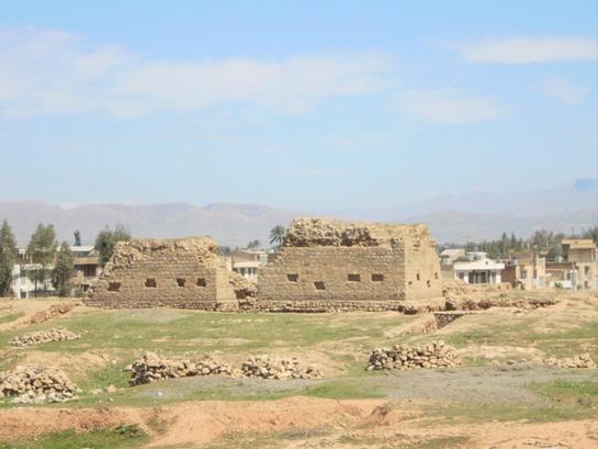 چهار قاپی دوران ساسانی-شهرستان قصر شیرین