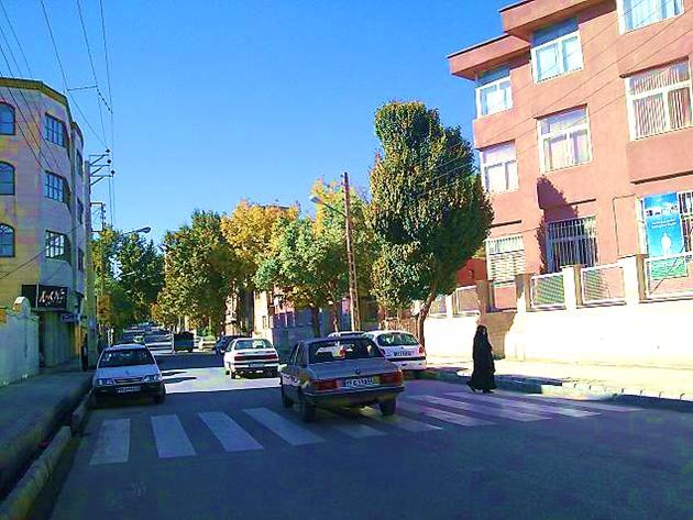 اول خیابان بهار - شهر کرمانشاه