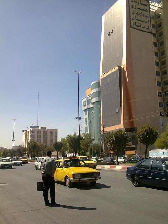 بلوار بهشتی - شهر کرمانشاه