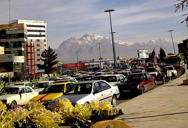 ترافیک در شهر کرمانشاه