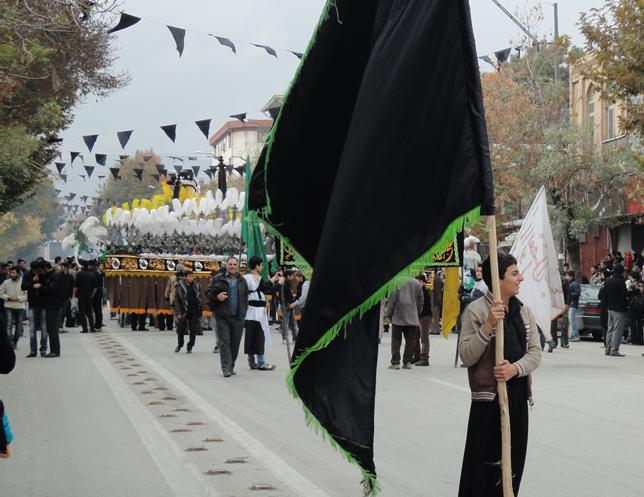 عاشورای حسینی-خیابان دبیر اعظم