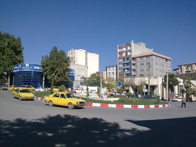 میدان رفعتیه - شهر کرمانشاه
