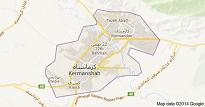نقشه ی گوگل ارث شهر کرمانشاه