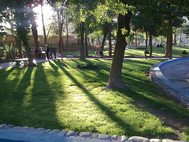 پارک لاله - شهر کرمانشاه