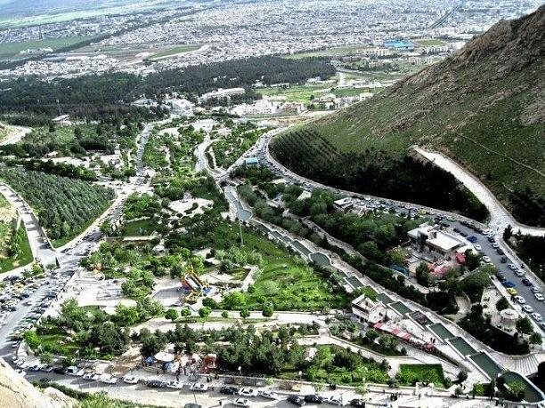 پارک کوهستان شهر کرمانشاه